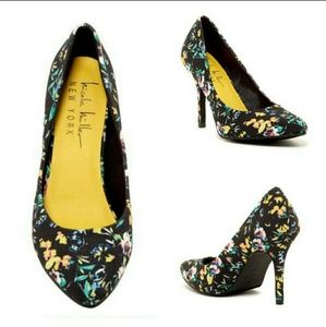 Nicole Miller Tropical Magda Pointy Toe Pumps
